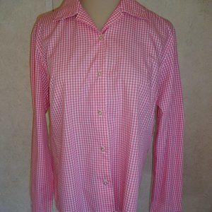 Vintage 1980s 1990s Womens Pendleton Shirt Pink
